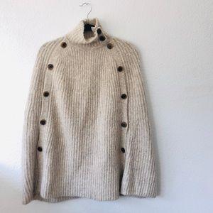 J. Crew Sweater Poncho